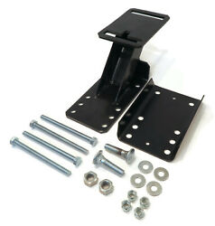 Spare Tire Wheel Carrier Kit With Hardware Angled Bracket For Cargo Rv Camper