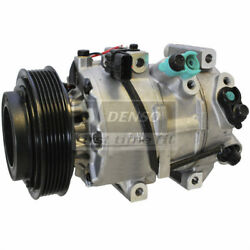 DENSO Auto Parts A/C Compressor and Clutch P/N:471-6025
