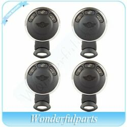 4x Uncut Replacement Smart Remote Car Keyless Key Fob for 2013 2014 Mini Cooper
