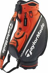 2019 Taylor Made Caddy Bag Global Tour Staff Anw37 Orange From Japan New