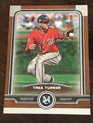 Trea Turner 2019 Topps Museum Collection Copper Parallel Sp 96 - Nationals