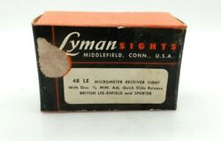 Lyman No. 48 Le Micrometer Sight For British Lee-enfield    Jul1219.09.01.ws