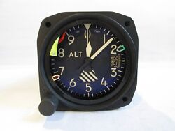 Aircraft Encoding Altimeter By Idc P/n 571-25005-012 Repaired