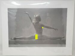 Olympic Gymnast Cathy Rigby Ghost Litho Print 7/125 Cooke Sports Illustrated Coa