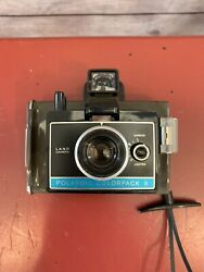 Polaroid Colorpack Ii Land Camera W/case Plus Users Manual Fully Operational