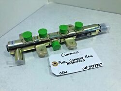 NEW OEM BOSCH CUMMINS Fuel COMMON RAIL Distributor MANIFOLD 0445224025 / 3977727