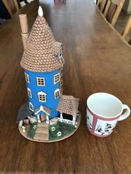 Moomin House 2000 Pieces Limited Finland Candle Holder Rare W/tracking F/s