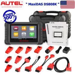 Autel DS808K Full Connectors KIT ALL Systems Scanner Tablet Auto Diagnostic Tool