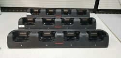 LOT 3PCS HONEYWELL 70E-CB mobile device charger Indoor Black Four-bay terminal
