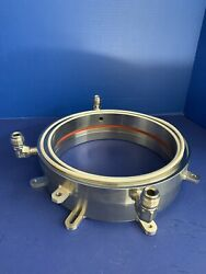 Thermco / Expertech H2 Anneal Front Flange 225/235 Mm Complete Used