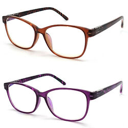 Anti Blue Light amp; Anti Block Glare Computer Reading Glasses Readers for Women $10.95