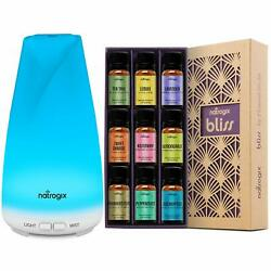 Natrogix Essential Oil Diffuser 150ml Totem - Cool Mist Aroma Humidifier for