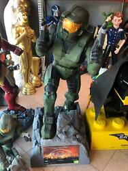 Halo 1 Master Chef Life Size Statue Video Game Display Prop Store Display Decor