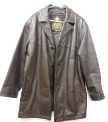 Andrew Marc New York - Brown Menand039s Premium Leather Jacket - Size L - Was 495.00
