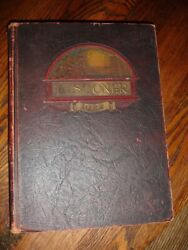 Post Wwi1921 University Of Oklahoma Yearbook Sooners Sorority Frats Military