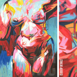 36wx48h Nude Female Corno-style - Stretched Oil Painting Reproduction Canvas