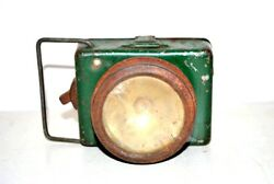Antique British Made Old Beautiful Battery Lighting Lamp Collectible