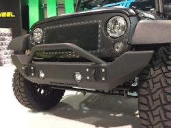 Iron Cross Full Size Front Bumper With Bar For 07-15 Jeep Wrangler Jk Gp-1300
