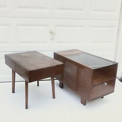 George Nelson For Herman Miller Sofa Side Tables