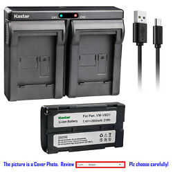 Kastar Battery Dual Usb Charger For Topcon Gps Hiper Ii Gnss Receivers Bdc-58