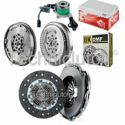 2 Part Clutch Kit And Luk Dmf With Fte Csc For Mercedes-benz Sprinter Bus 314