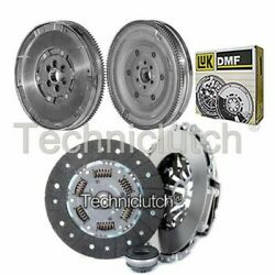 Nationwide 3 Part Clutch Kit And Luk Dmf For Audi A6 Berlina 1.9 Tdi
