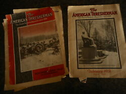 2 Antique American Thresherman 1930 And 31 Farming Magazine Agriculture Madison Wi