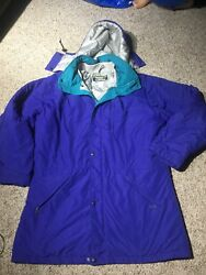 True Vintage Made In Usa L.l. Bean Penobscot Parka Down Jacket Size Large Tall