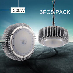 3X 200W LED High Bay Light Warehouse Super White Factory Industrial Grade Lamp