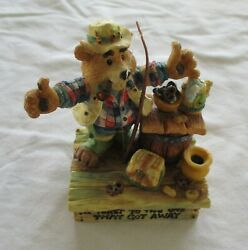 Enesco Moose Creek Crossing A Toast To The One That Got Away Vintage 1996 Used