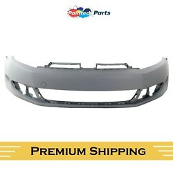 Fits Volkswagen Jetta 2010-2014 New Front Bumper Cover Painted Vw1000184 Premium