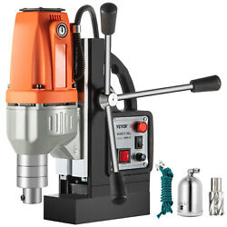 980w Brm-35 Magnetic Drill Press 1-1/2 Boring 2250 Lbs Magnet Force Tapping