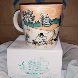Moomin Arabia Valley Park Limited Mug Cup Rare W/tracking Free Sipping A2