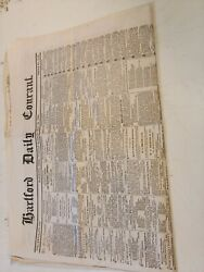 Antique Hartford Daily Courant Newspaper May 24, 1864 Civil War News