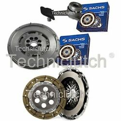 2 Part Clutch Kit And Sachs Dmf With Sachs Csc For Ford Focus Berlina 1.8 Tdci