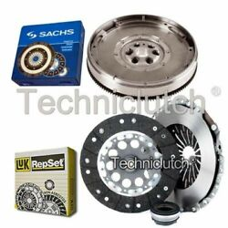 Luk 3 Part Clutch Kit And Sachs Dmf For Audi A4 Saloon 1.9 Tdi