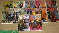 The Walking Dead 115 116 117 To 126 Image 12-book Run All Out War 1st Prints Nm