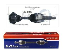 For Cadillac Escalade Chevy Tahoe Front Left Or Right Axle Shaft Surtrack Gm8033