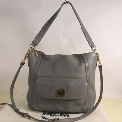 MCM Leather Cross shoulder Bag Authentic Dust Bag $79.99