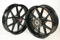 Pair Wheels Forged Marchesini For Ducati 999rs Code 50220291c 50120291a