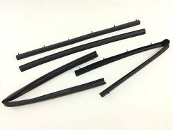 1999-2016 Ford F250 F350 Crew Cab Front And Rear Lower Door Weather Strip Seal Oem