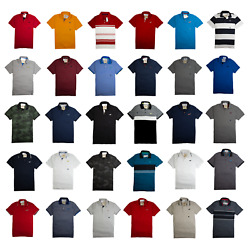 Nwt Hollister By Abercrombie And Fitch Mens Polos Shirts Icon Pique Size S,m,l,xl