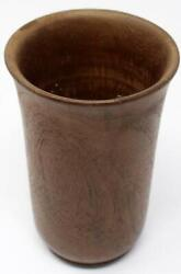 Ancient Rare Wooden Carved Handmade Tribal Water Milk Drug Glass Pot