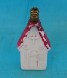 Vintage Old Antique Collectible Glass Christmas Tree Light Bulb