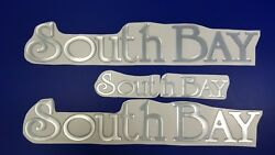 South Bay Boats Emblem 22 + Free Fast Delivery Dhl Express - Decal Stickers