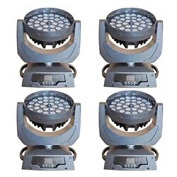 3615w Rgbwa 5 In 1 Led Zoom Moving Head Wash Light 4pcs Free Shipping