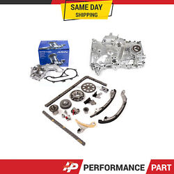 Timing Chain Kit Oil Pump Aisin Water Pump For 05-15 2.7 Toyota Tacoma 2trfe