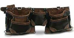 Wolf Leather Apron Wta012 13-pockets Large Tape Holder, Double Stitched