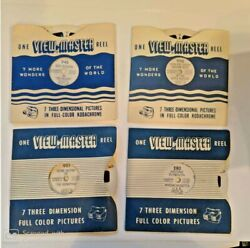 Vintage Viewmaster Reels Hopalong Cassidy Roy Rogers Gene Autry Plymouth Mass 4