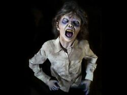 Grave Buster Bonnie Animated Halloween Prop Haunted House Graveyard Zombie Torso